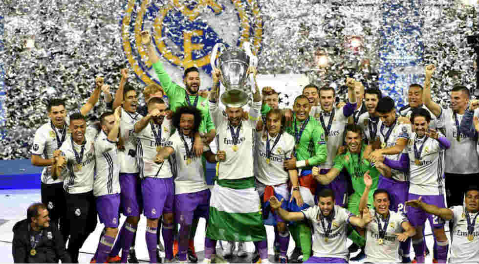 Real Madrid Liga Champions